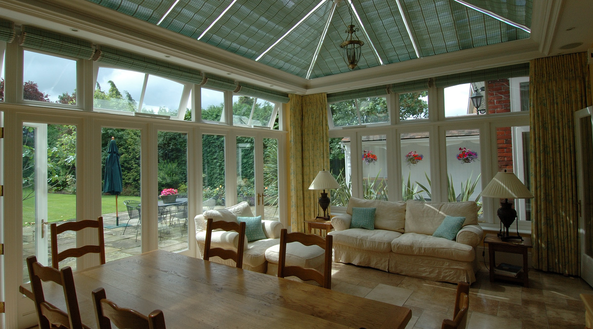 relaxing conservatories