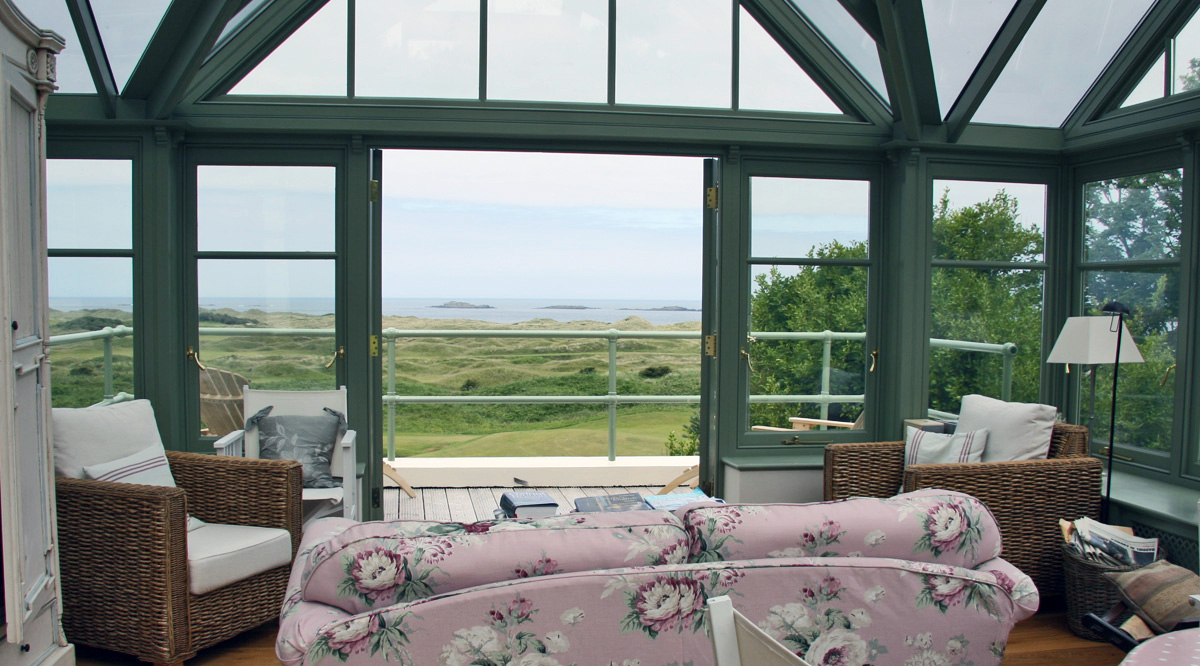 conservatories with a view