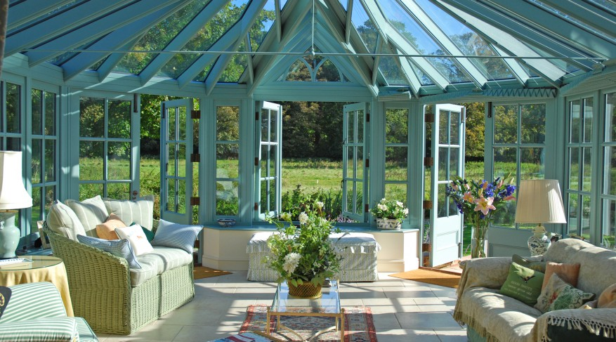 robin egg conservatory