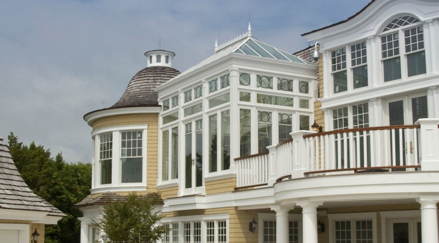 second story conservatory