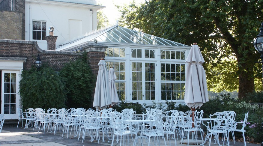 Hurlingham club conservatory exterior