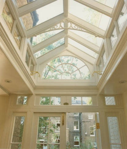 skylight entryway