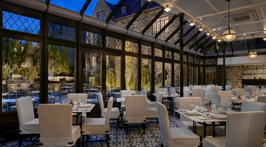 upscale dining conservatory