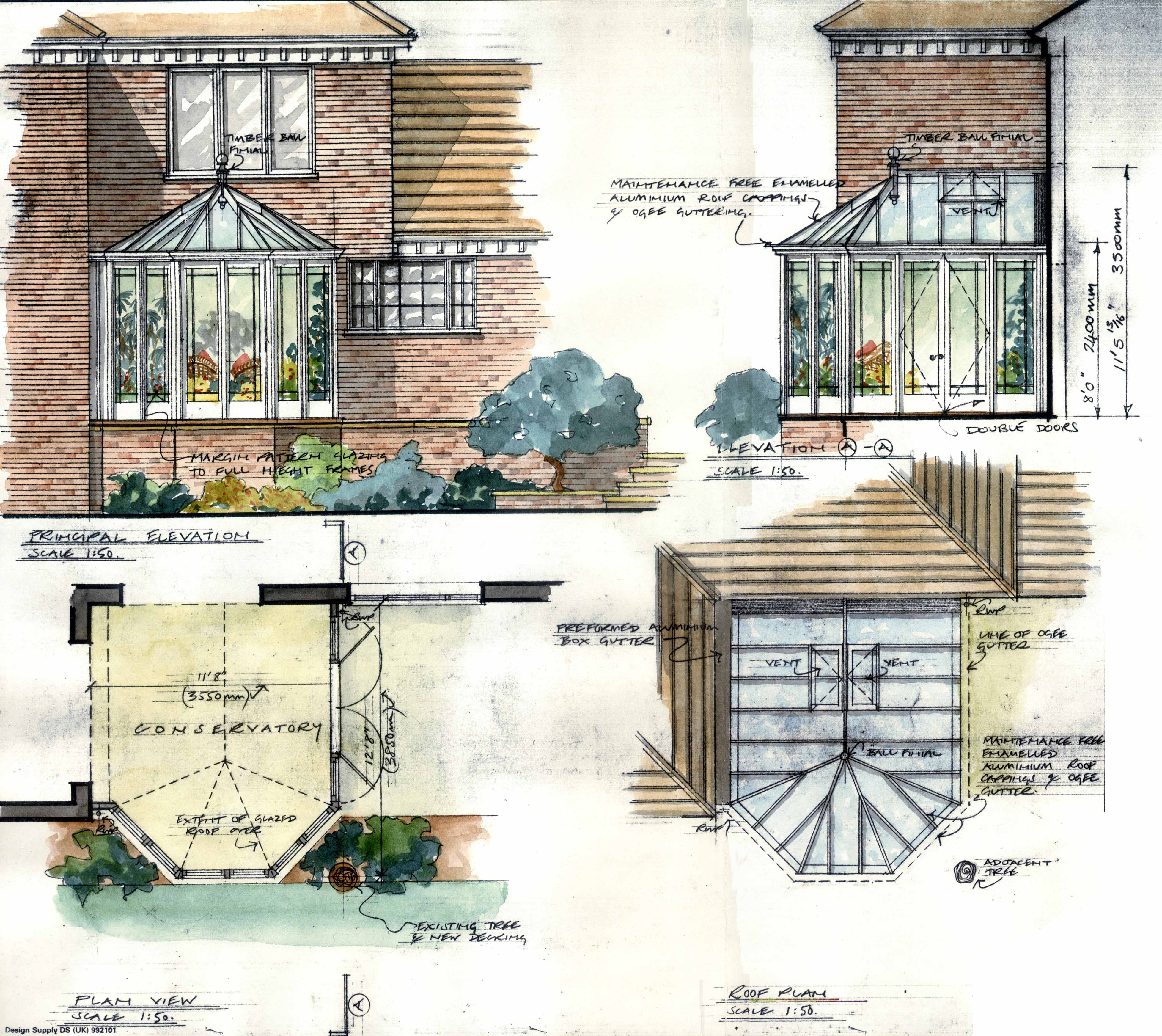 conservatory plans