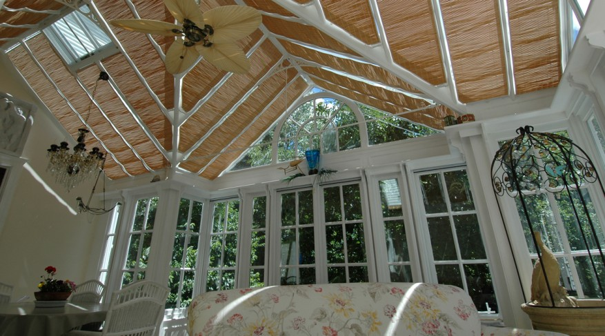 conservatory shades woodweave