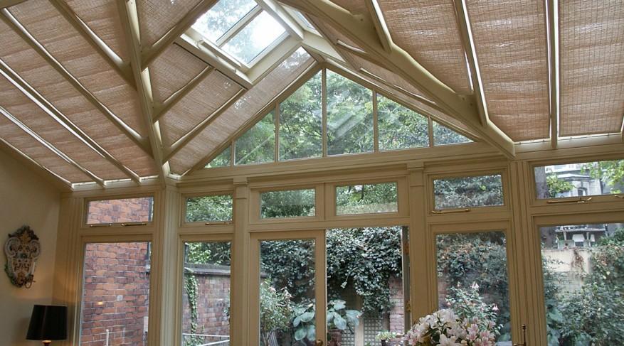 conservatory window shades