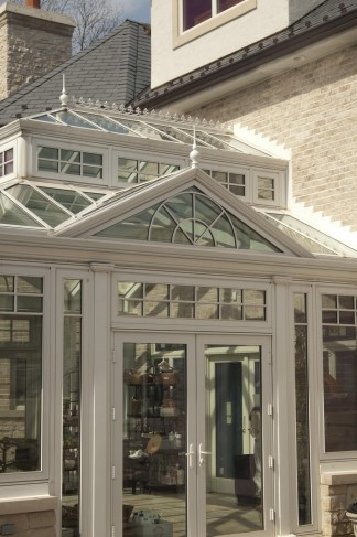 conservatory attachment