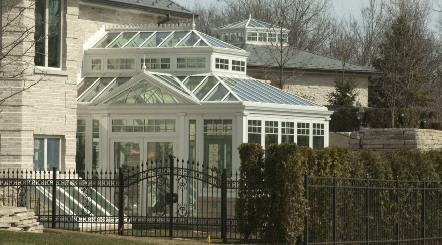 conservatory and skylight