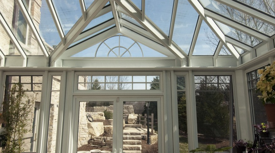 feature gable entrance