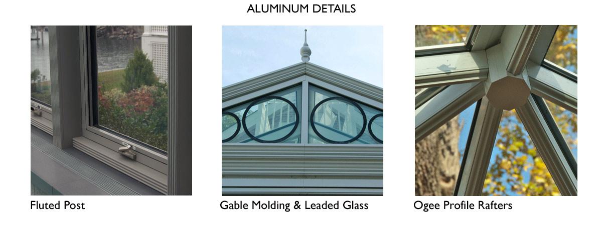 aluminum conservatory details