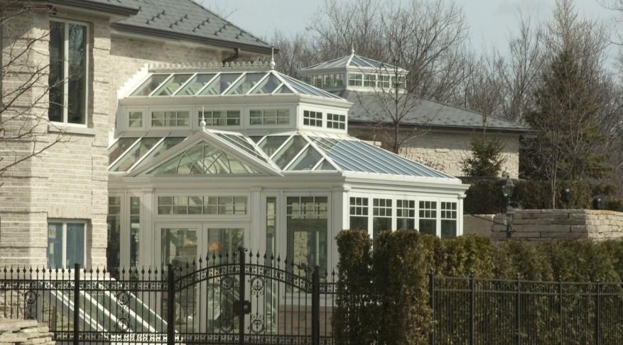 conservatory in aluminum