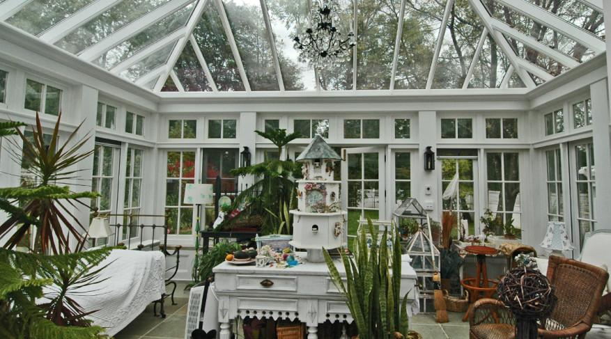 garden conservatory interior