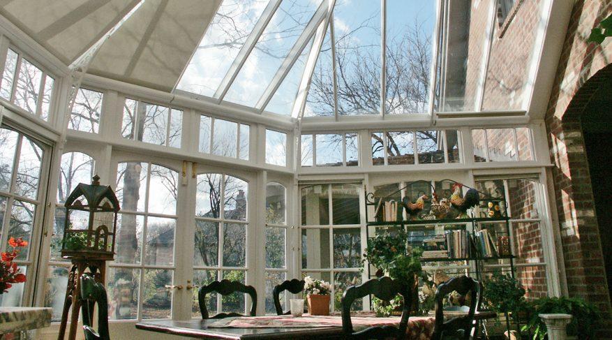 corner kitchen conservatory