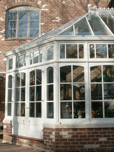 bay end kitchen conservatory