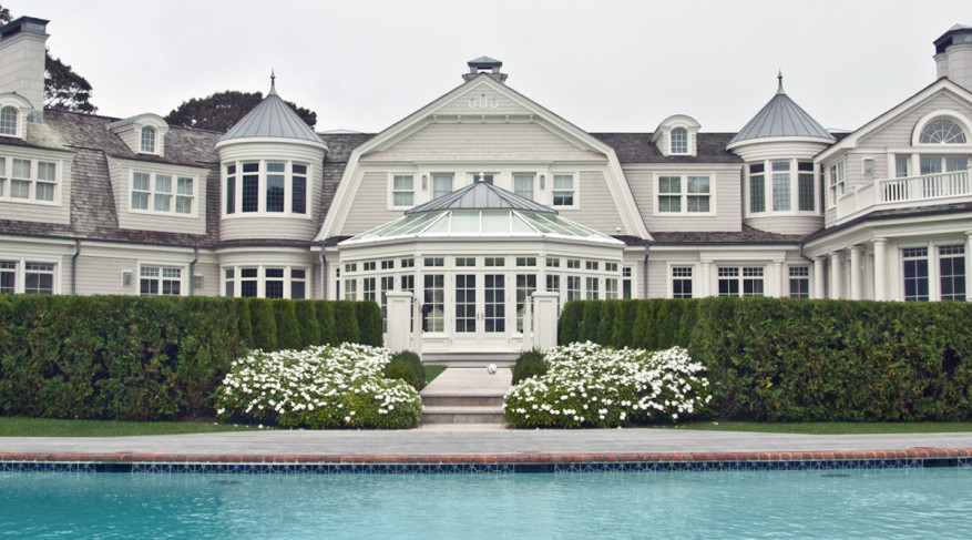 poolside conservatory