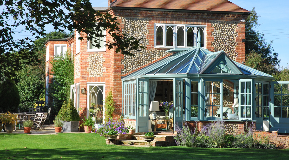 bay-end conservatory