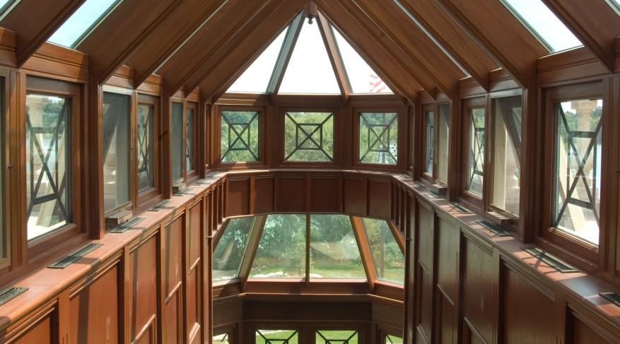 natural finish interior