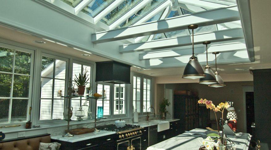orangery kitchen lighting