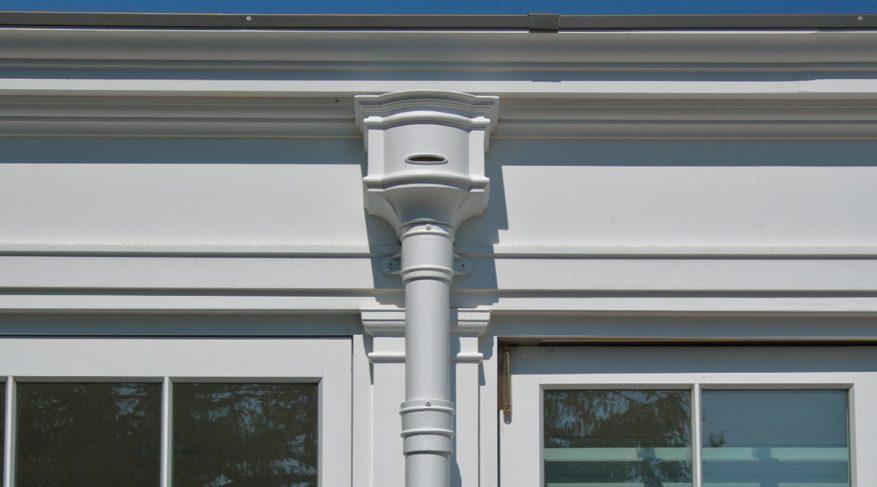 conservatory gutter