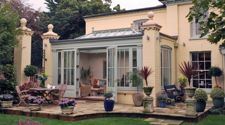 patio orangery