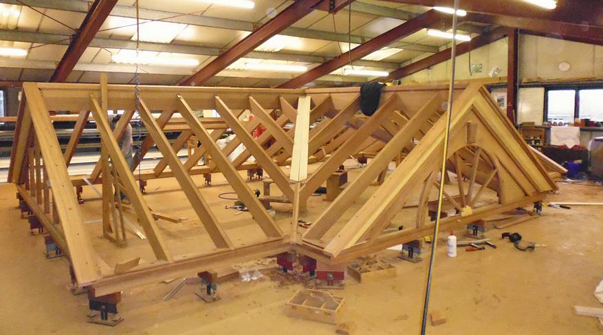 assembled roof