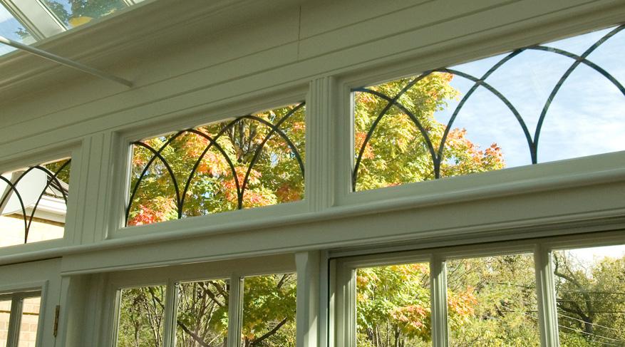 leaded glazing pattern