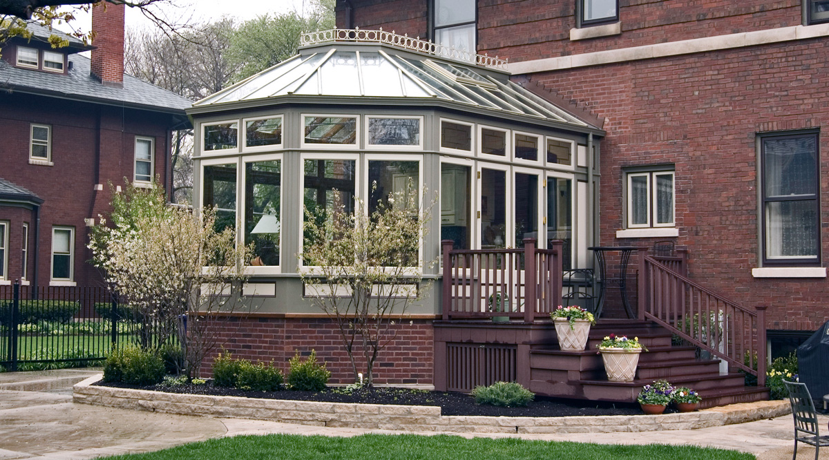 solid roof conservatory below windows