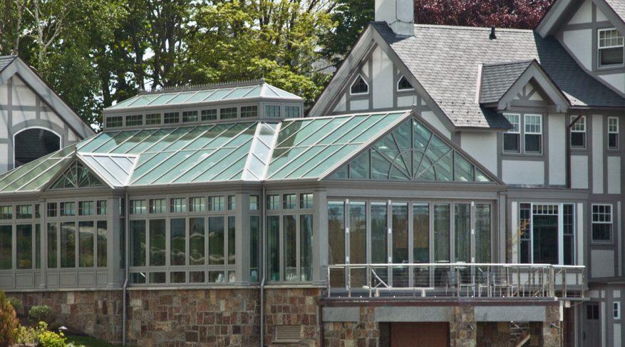 conservatory pool enclousure