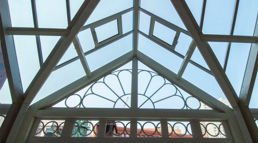 conservatory glazing pattern