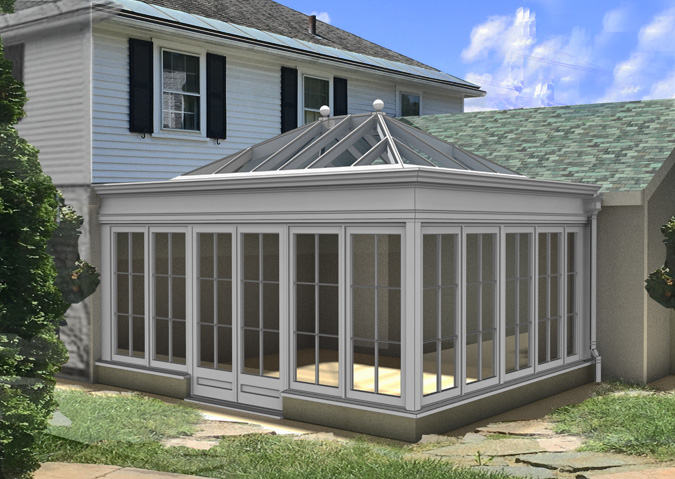 conservatory rendering