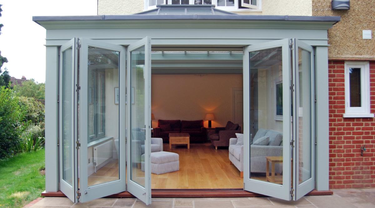 modern folding sliding doors