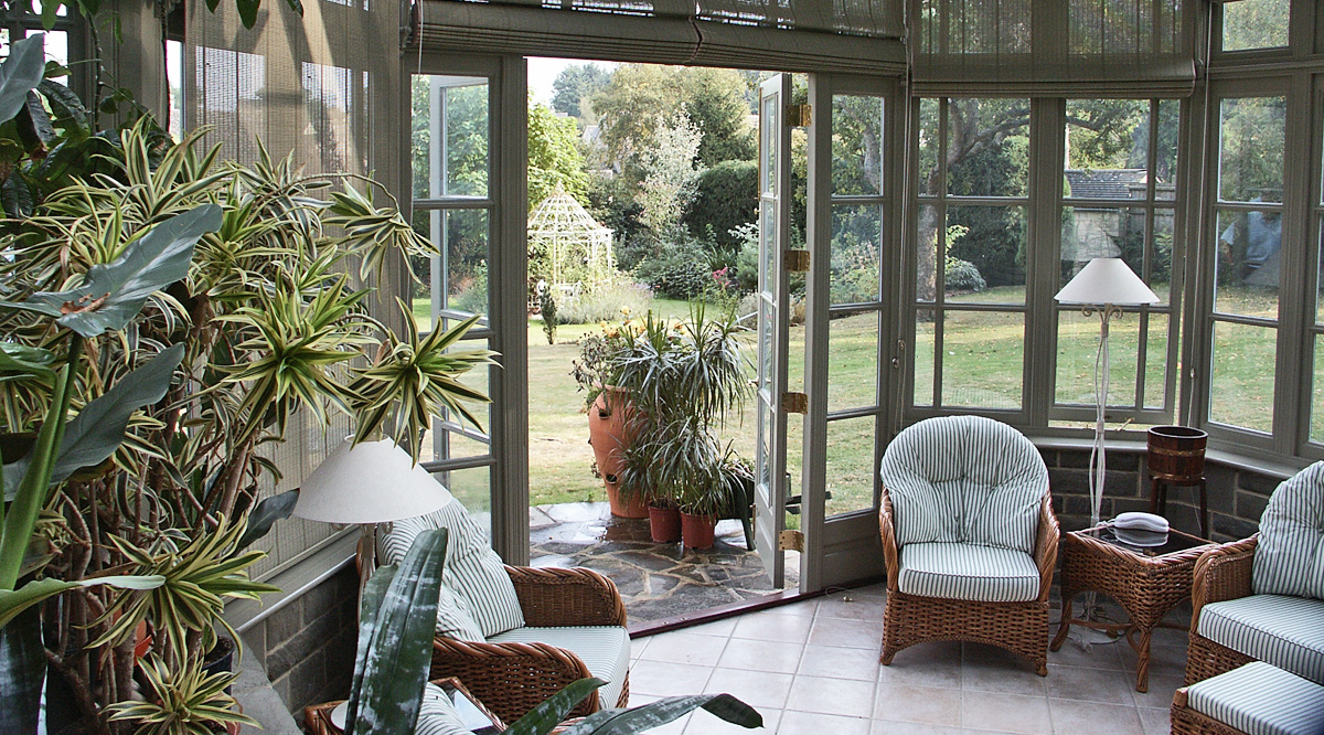 conservatory for plants