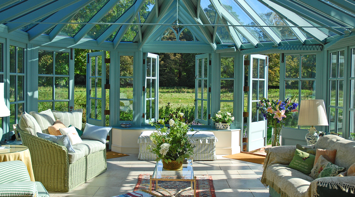 blue bay end conservatory
