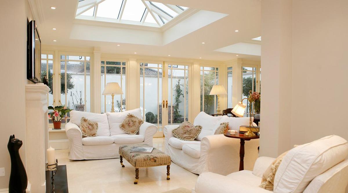 conservatory vs orangery roofs
