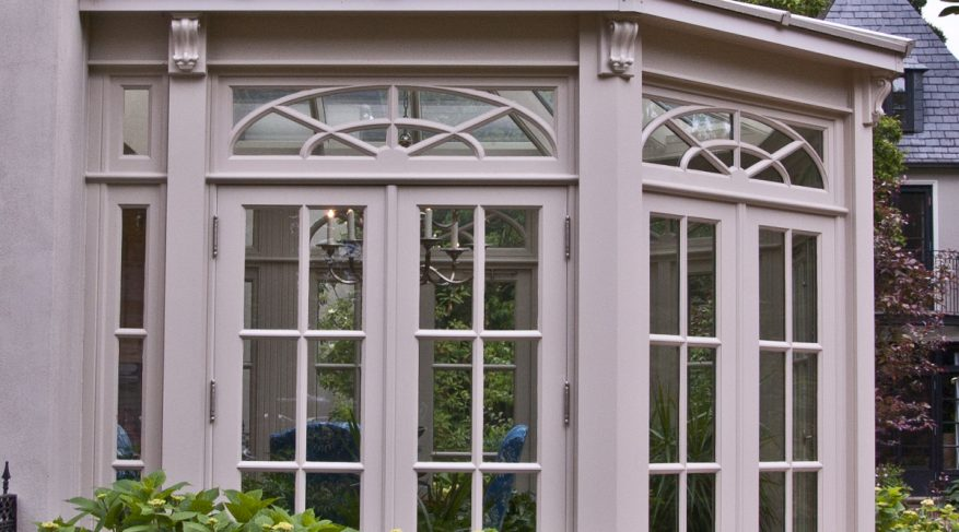 radial glazing conservatory clerestory