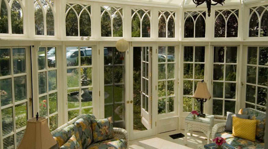 cottage garden conservatory