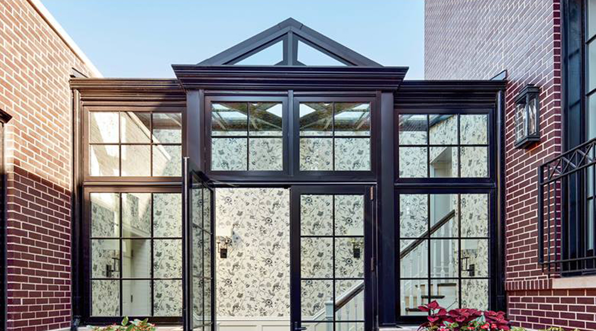 Luxe magazine conservatory