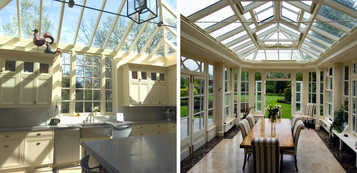 conservatory vs orangery interiors