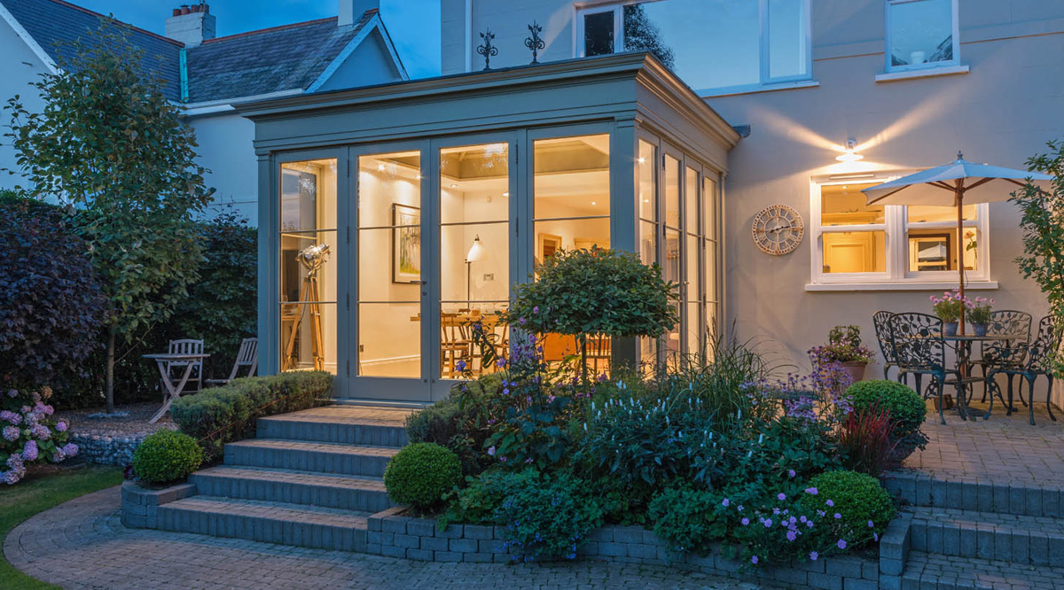 tradition meets modern orangery