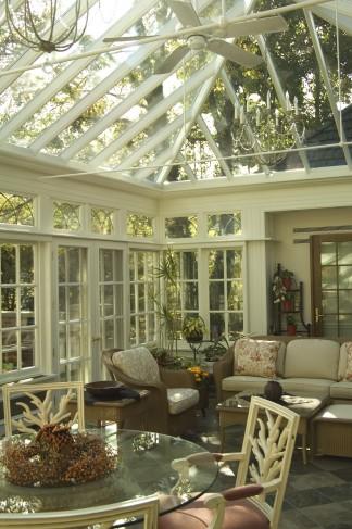 interior courtyard conservatory