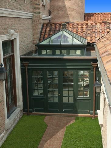 courtyard orangery