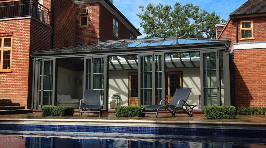 courtyard conservatory