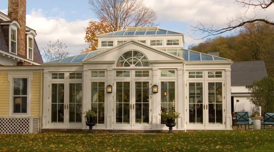 radial gable pattern conservatory