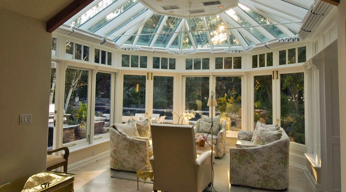 flat roof conservatory