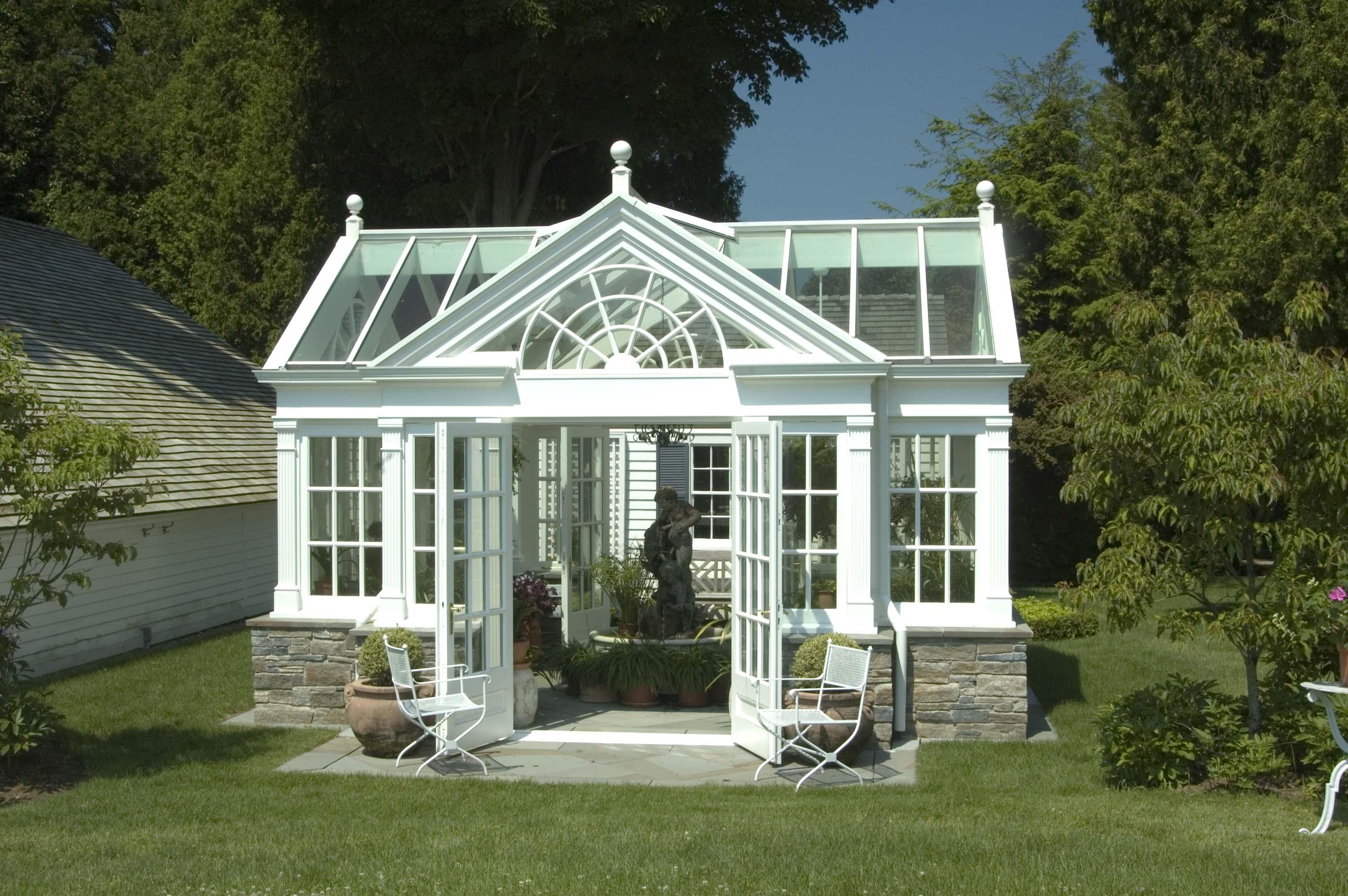 traditional garden house