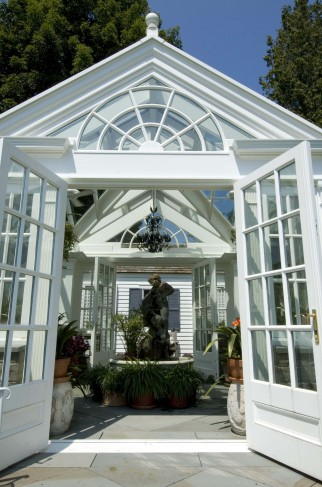 freestanding greenhouse conservatory