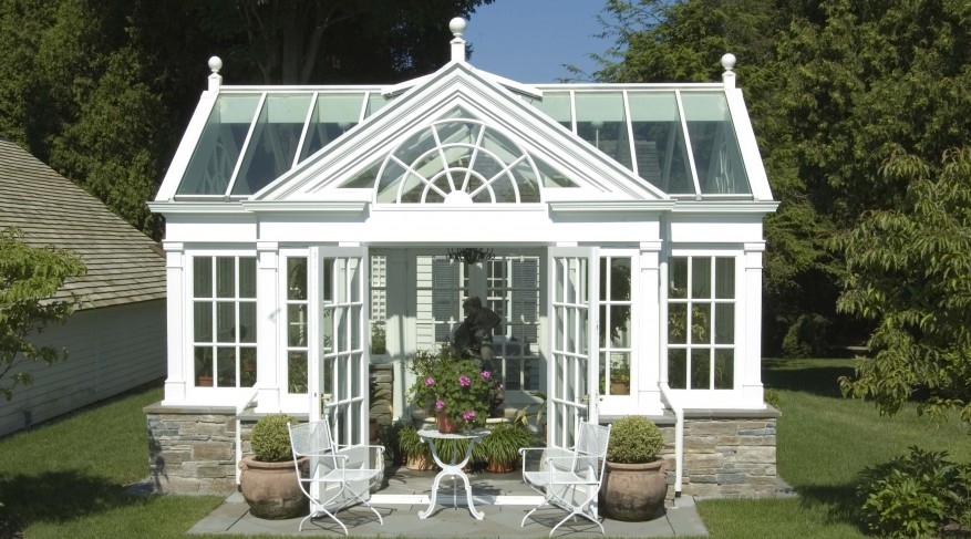 conservatory teahouse