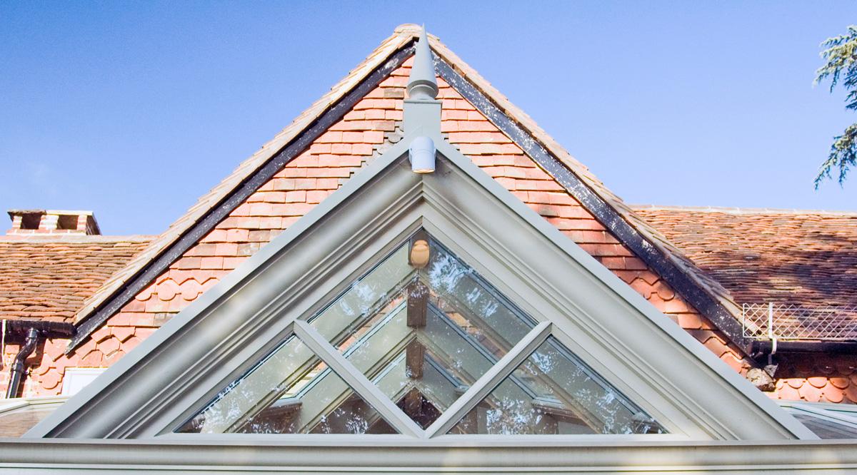 gable conservatory glazing pattern design