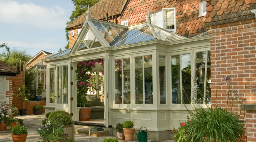 hipped and gable conservatory