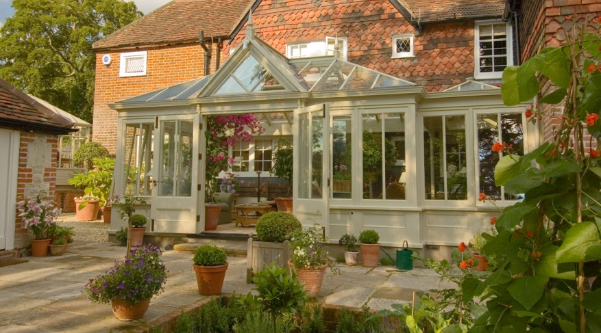 conservatory and lantern